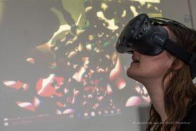VR bril virtuele eiwitten